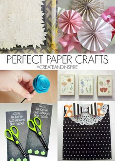 Create & Inspire Party | Perfect Paper Crafts - A Night Owl Blog