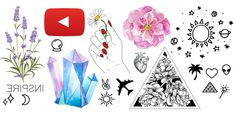 Tumblr Png, Tumblr Stickers, Body Art Tattoos, Diy And Crafts, Artsy, Sketches, Cool Stuff, Drawings, Ideas