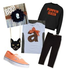 Halloween by saram0223 on Polyvore featuring polyvore, fashion, style, CO, Vans and Chicnova Fashion