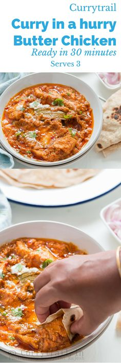 Curry in a hurry – Butter Chicken