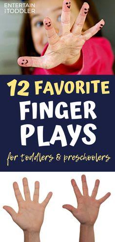 Preschool Activity: 12 Finger Plays