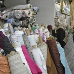 At Broadway Fabrics we have a huge selection of fabrics - you'll need to visit to see them all! Make sure you visit us when you are traveling to New York.