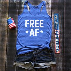 fourth of july tank / fourth of july / american flag clothing