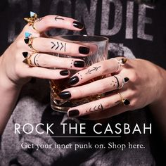 Rock the Casbah new SVP Adjustable rings -get your punk on with our studs and spikes in tigers eye, black spinel and turquoise. Rock The Casbah, Studs And Spikes, Man Office, Stylish Mens Outfits, Black Spinel, Carat Gold, Handcrafted Jewelry, Tattoos For Guys, Boho Fashion