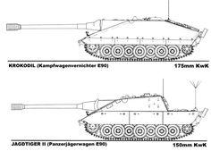 Jagdpanzer E-100 Krokodil the origins of the myth | MMOWG.net