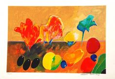 Flores e Frutas - Aldemir Martins