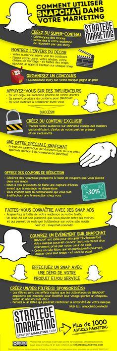 Utiliser Snapchat dans votre marketing