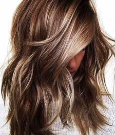 Pinterest: DEBORAHPRAHA ♥️ Blonde highlights for brunettes #hair #color #balayage