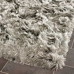 @Overstock - This hand-tufted shag rug offers luxurious comfort and casual styling with an ultra soft satiny look and feel.http://www.overstock.com/Home-Garden/Hand-woven-Silken-Silver-Shag-Rug-2-x-3/5953955/product.html?CID=214117 $27.49