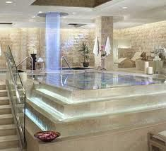 I want a home spa...