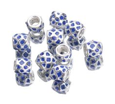 10x15mm Alloy Enamel Beads fit European Charm Bracelets Jewelry Mesh Pattern http://www.eozy.com/10x15mm-alloy-enamel-beads-fit-european-charm-bracelets-jewelry-mesh-pattern.html
