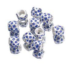 10x15mm Alloy Enamel Beads fit European Charm Bracelets Jewelry Mesh Pattern http://www.eozy.com/10x15mm-alloy-enamel-beads-fit-european-charm-bracelets-jewelry-mesh-pattern.html