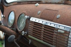Rusty Chev-a-lay by T-Bart, via Flickr