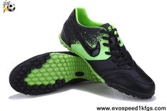 Star's favorite Black Green Nike5 Bomba Football Boots On Sale