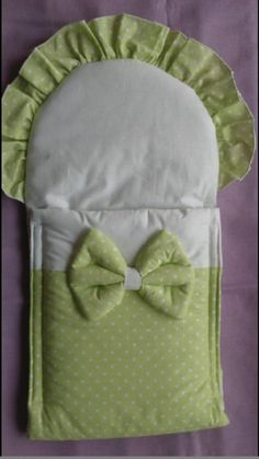 Matajka / Zavinovačka pre bábiku - zelená