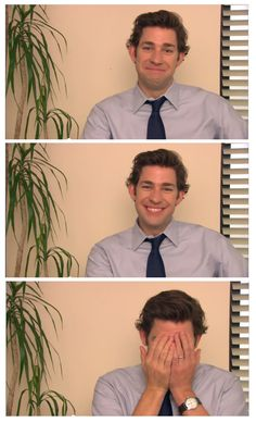 Ever seen The Office? Well this is Jim. And he's perfect.