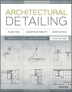 Download free architectural detailing function constructibility architectural detailing function constructibility aesthetics kindle edition by edward allen patrick fandeluxe Gallery