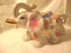 PRETTY AND COLORFUL CERAMIC ELEPHANT