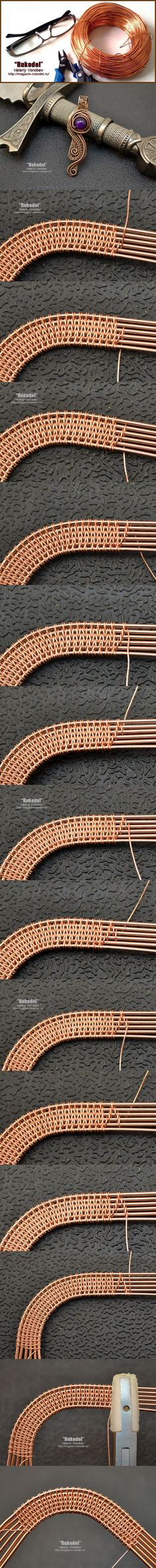 Photo tute #Wire #Jewelry #Tutorials