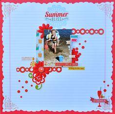 Summer Bliss *MCS Main Kit June '14* - Scrapbook.com