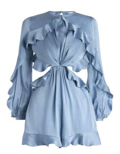 Zimmermann Winsome Flutter Playsuit. Product Image.