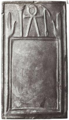 Heluan Ka-palette Helwan Early 1st Dynasty Cairo Museum