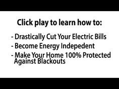 DIY Home Energy | The Quick & Easy Way To Energy Independence & Lower Power Bills — DIY Home Energy