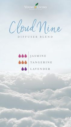 7 reasons to have a crush on Jasmine essential oil : Happy days are here to stay, so boost your mood and get on Cloud Nine with this diffuser blend that combines Jasmine, Lavender, and Tangerine essential oils. Young Essential Oils, Essential Oil Uses, Doterra Essential Oils, Yl Oils, Tangerine Essential Oil, Jasmine Essential Oil, Jasmine Oil, Aromatherapy Oils, Aromatherapy Recipes