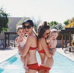 cuties and their mamas