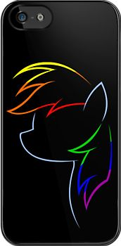 """""""Flash of Rainbows"""" iPhone & iPod Cases by anxietydown Ipod Cases, Iphone Case Covers, My Little Pony Princess, Were All Mad Here, Cartoon Movies, Rainbow Dash, Mlp, Rainbows, Nerd"""