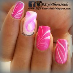 Style Those Nails: Breast Cancer Awareness Manicure ! - October 2014