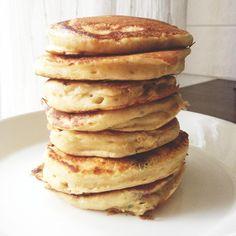 Täydellisten pannarien salat / Lunni leipoo / Maku Dairy Free Recipes, Baking Recipes, Snack Recipes, Dessert Recipes, Snacks, Yummy Pancake Recipe, Pancakes, Delicious Desserts, Yummy Food