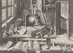 Hendrik Hondius, Vanitas, 1626