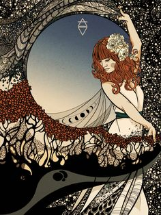 "calmality.deviantart.com Her entry for the Talenthouse contest to design a Florence + the Machine Poster for her U.S. tour. Please check out my entry and and give it some ""love"" if you're interested! Or my instagram post to..."