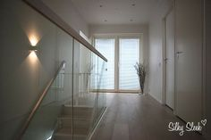 White Washed Oak, Glass Railing, My House, Flooring, Furniture, Home Decor, Decoration Home, Room Decor, Wood Flooring