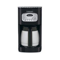 CONAIR-CUSINART DCC-1150BK 10 CUP PROGRAMMABLE THERMAL COFFEEMAKER BLACK