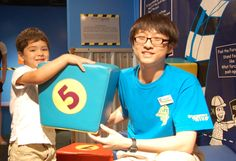 The Houston Children's Museum accepts volunteers 14 and up
