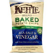 brand baked sea salt and vinegar potato chips more kettle baked potato ...