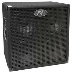 """Peavey Headliner 410 Bass Enclosure by Peavey. $299.99. - 800 watts program power handling - 1,600 watts peak - Four custom-designed 10"""" ceramic magnet woofers - 8 ohms impedance - 18mm ply cabinet with bracing and steel corners - 16-gauge perforated metal grille - Durable black carpet covering - Two 1/4"""" input jacks and one NL4 four-pin receptacle. Save 40%!"""