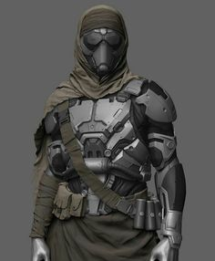 43 ideas sci fi concept art cyberpunk armors for 2019 Star Citizen, Suit Of Armor, Body Armor, Armor Concept, Concept Art, Desert Nomad, Desert Art, Arte Robot, Robot Art