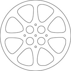 Movie Reel Template More Open
