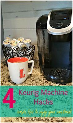 Keurig hacks simple solutions to common Keurig problems - just in case i need them Keurig Cleaning, Cleaning Hacks, Cleaning Recipes, Cleaning Solutions, I Love Coffee, My Coffee, Coffee Drinks, Coffee Truck, Starbucks Coffee