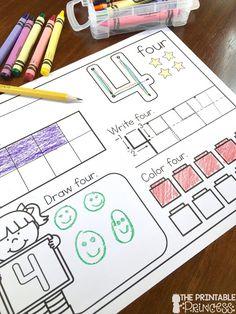So many good ideas for teaching Kindergarten number sense on this blog post!!