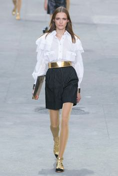 A look from the Chanel Spring 2015 RTW collection.
