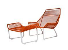 Cord lounge chair: Ilan Dei Studio