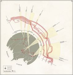 outstanding... infographic of the lord of the rings trilogy.