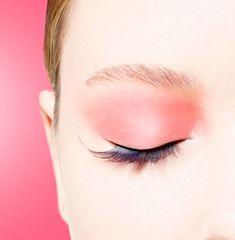 Black Red False Eyelashes Womens Fancy Dress Girly Glamour Fashion Accent Ladies
