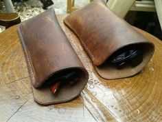 Natural Leather Glasses Case - Small, Medium and Large £12.00