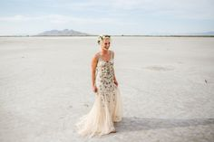 Utah Salt Flats Wedding Portraits: Erik & Hayley