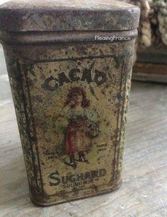 FleaingFrance.....French cocoa tin